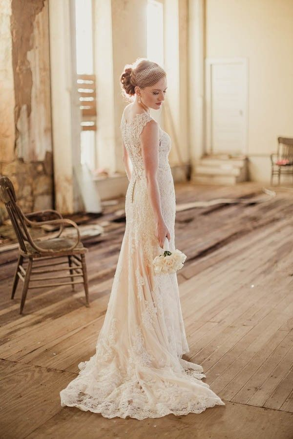 Shabby Chic Wedding Dress - Shabby Chic Wedding Dress