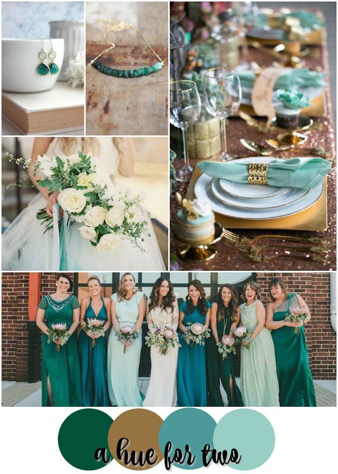 Wedding color teal for Teal wedding theme ideas