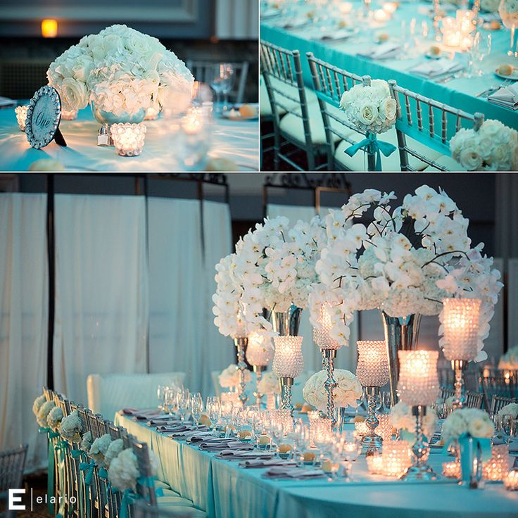 Tiffany Wedding Centerpieces