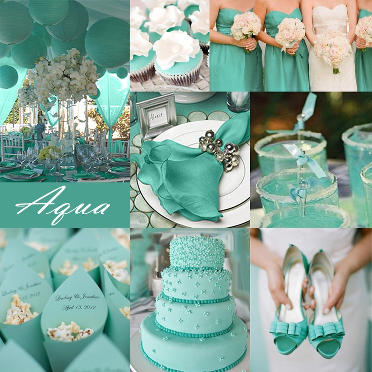 Best Ideas For Purple And Teal Wedding: Teal Green Wedding Decorations