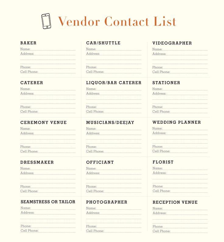 Wedding vendor checklist 17 best ideas about wedding coordinator checklist on emasscraft org junglespirit Image collections
