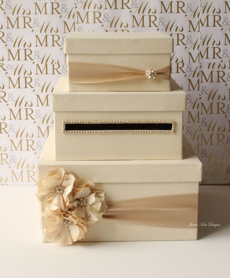 Wedding Money Box Ideas