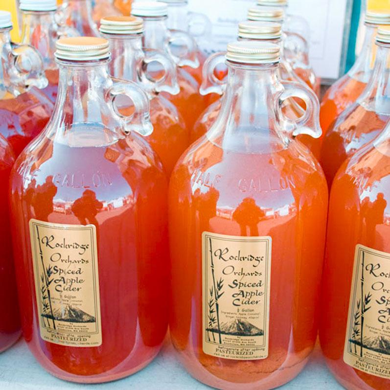 Apple Cider Wedding Favors
