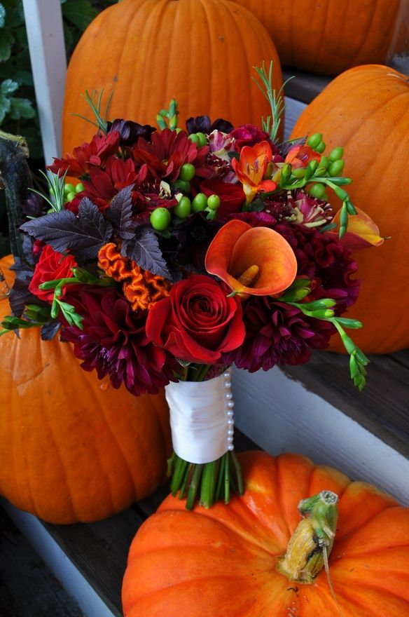 Fall Flower Bouquet Ideas | Euffslemani.com