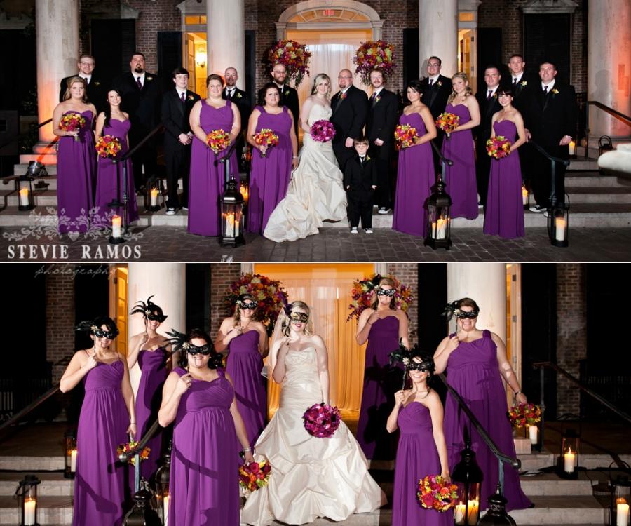 Mardi Gras Wedding Ideas