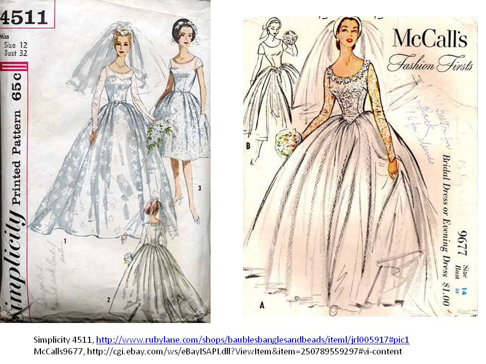 Wedding dress patterns free Wedding dress illustration