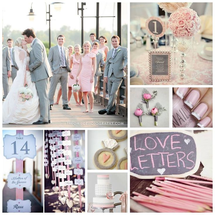 Blush And Gray Whimsical Wedding 17 Best Images About Colors On Emcraft Org