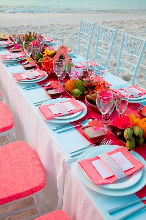 C And Turquoise Wedding Decorations