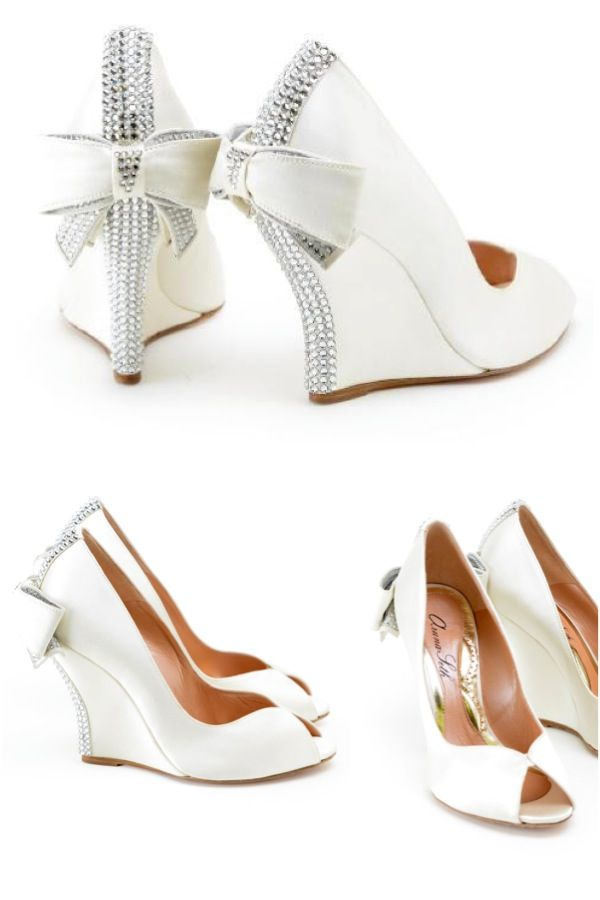 17 Ideas About Wedge Wedding Shoes On Emasscraft Org