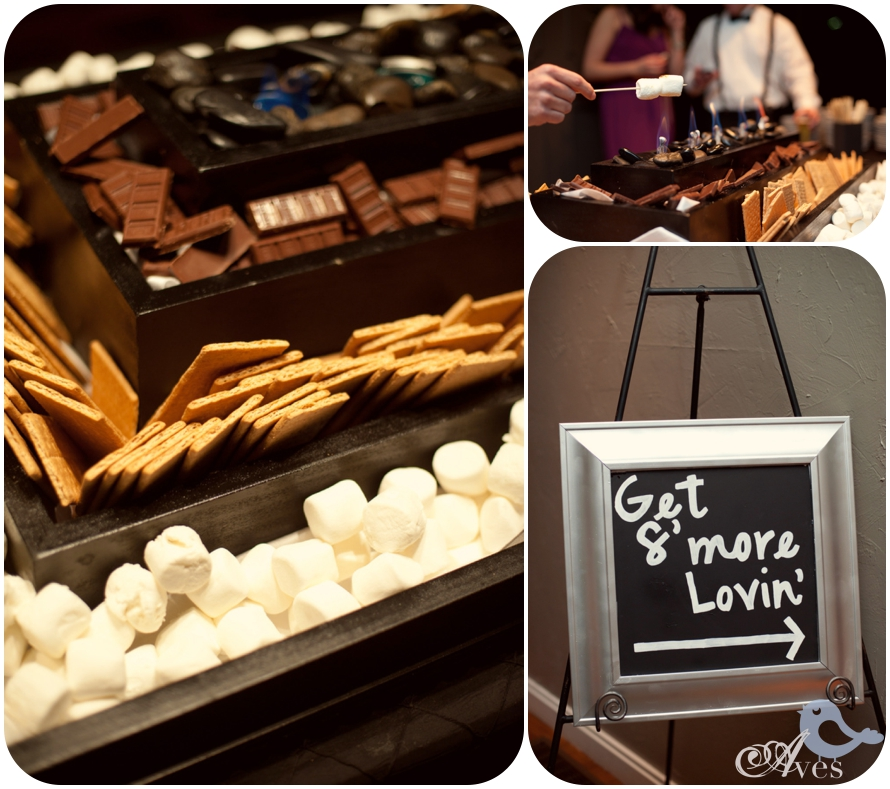 Late Night Snack Ideas For Weddings: S Mores Bar For Wedding