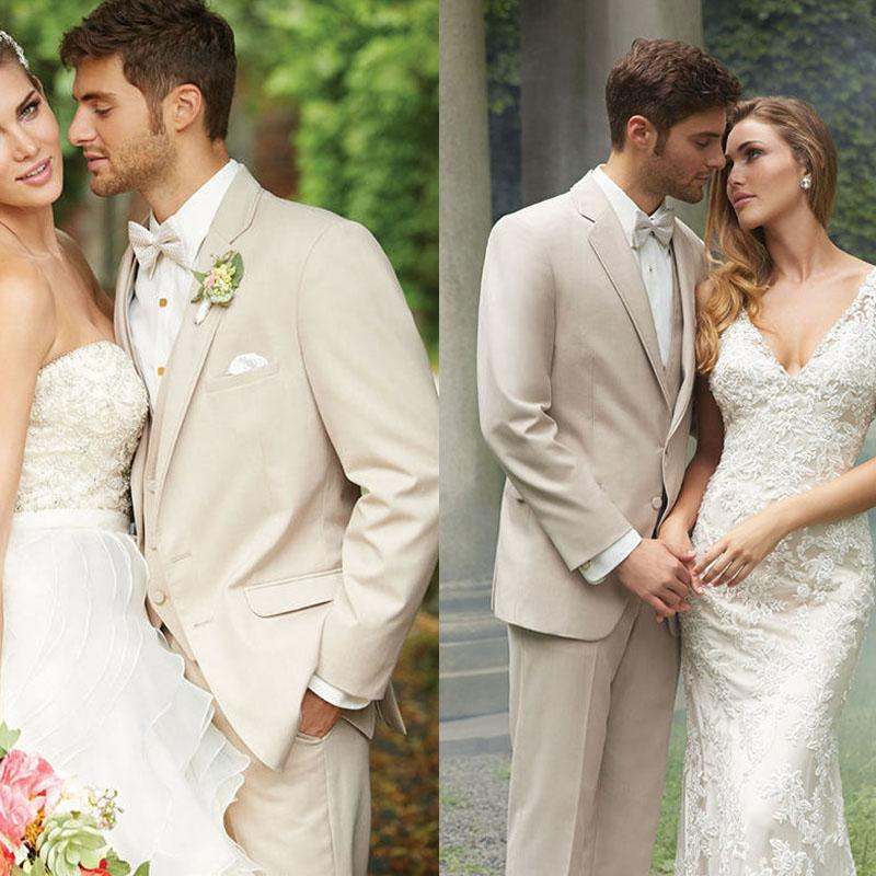 Mens Beige Suits Weddings