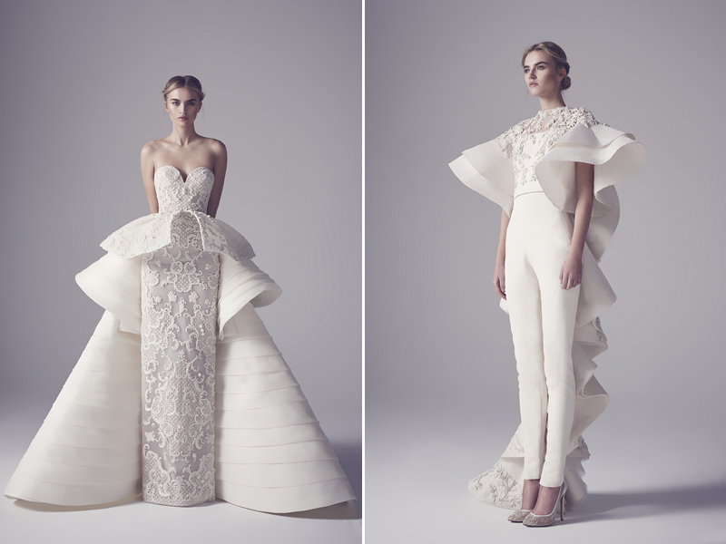 Excellent Contemporary Bridal Gowns Pictures Inspiration - Wedding ...