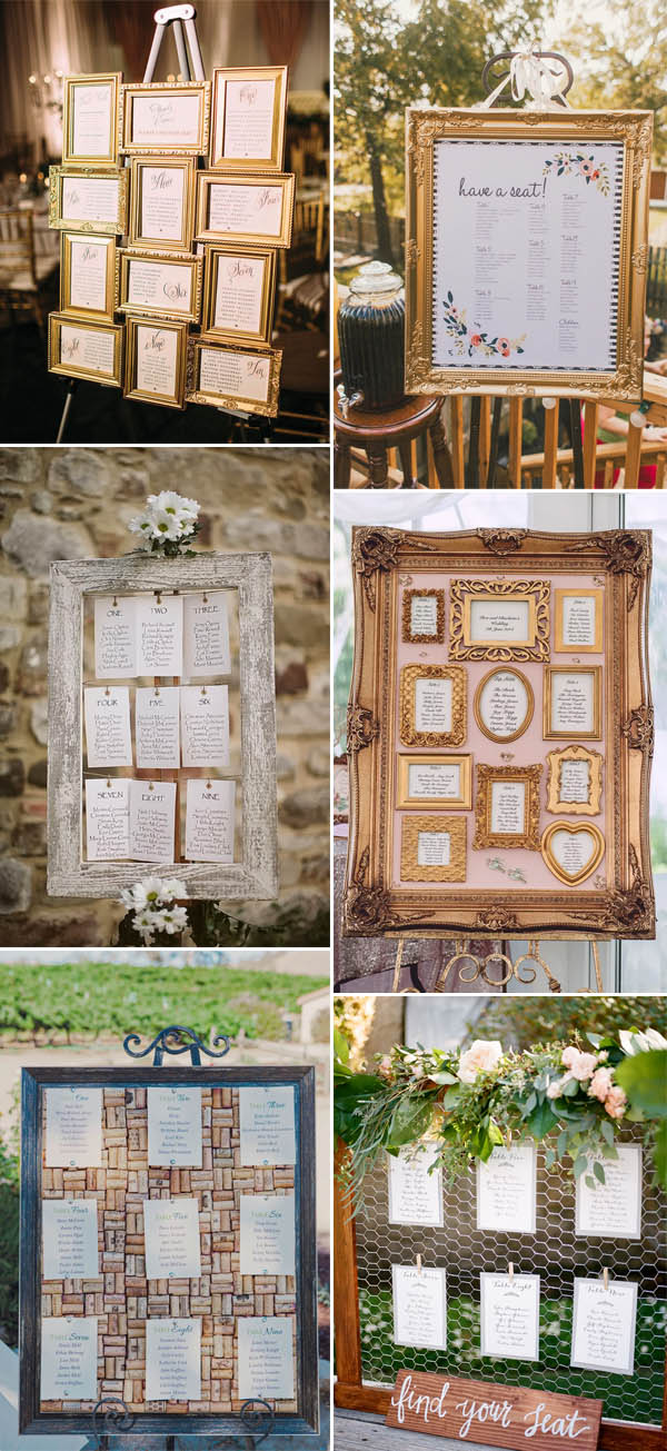 Seating chart wedding ideas 30 most popular seating chart ideas for your wedding day junglespirit Gallery