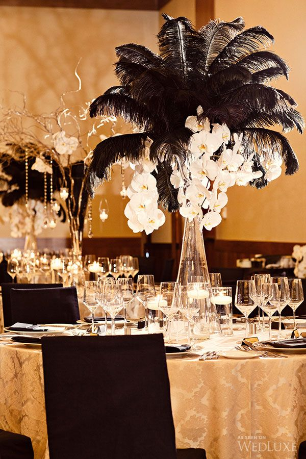 35 Amazing Gold Wedding Black And