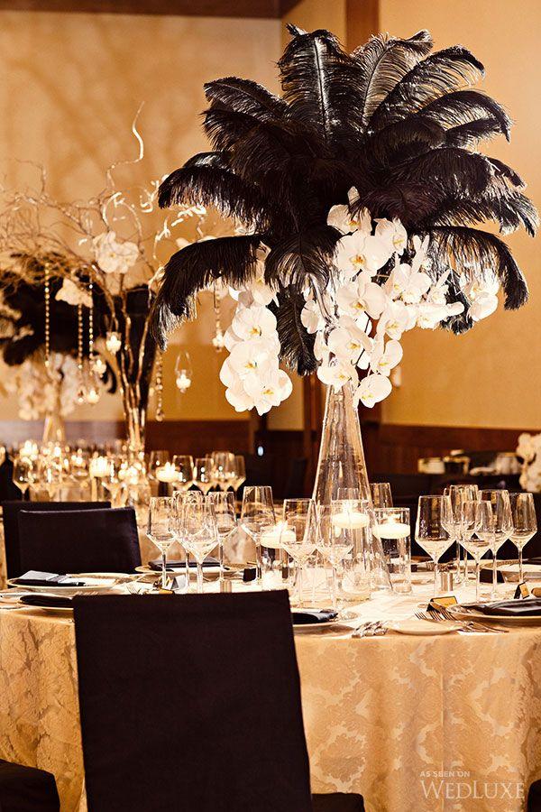 35 Amazing Gold Wedding Black And