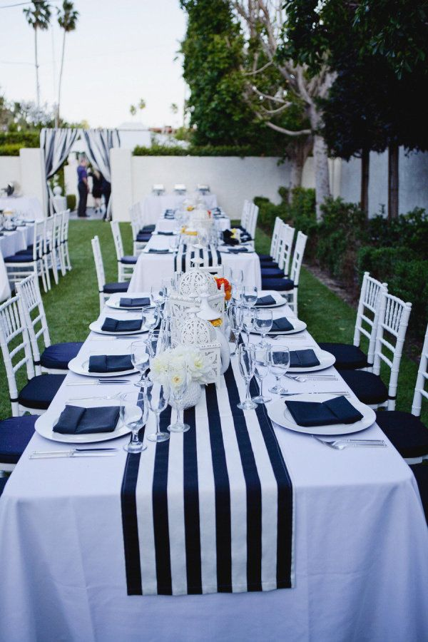 Nautical wedding table decor 78 best images about stripe wedding decor ideas on emasscraft org junglespirit Images
