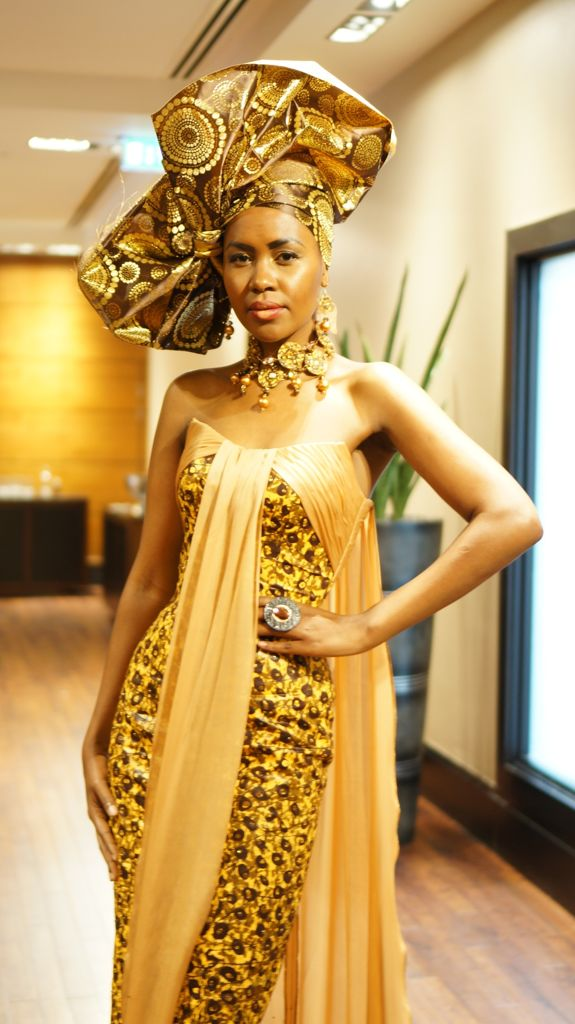 Traditional African Wedding Dress
