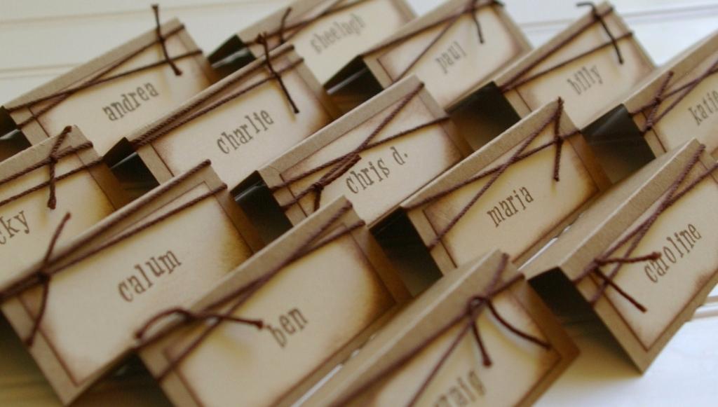 name tag ideas for weddings