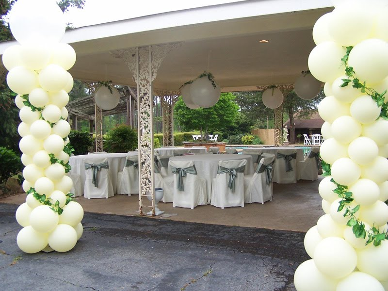 Balloon Decoration For Wedding Reception