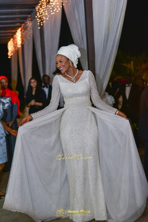 African Muslim Wedding Dress