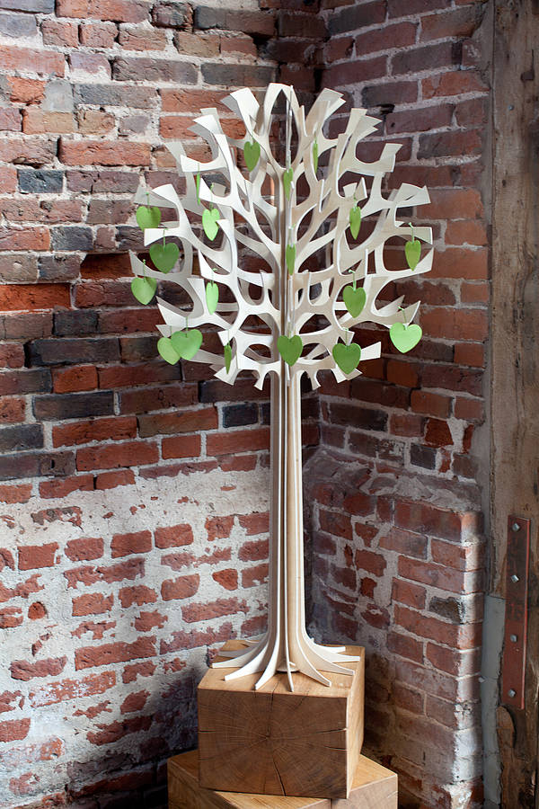 Birch Wedding Wish Tree By Oak Ford