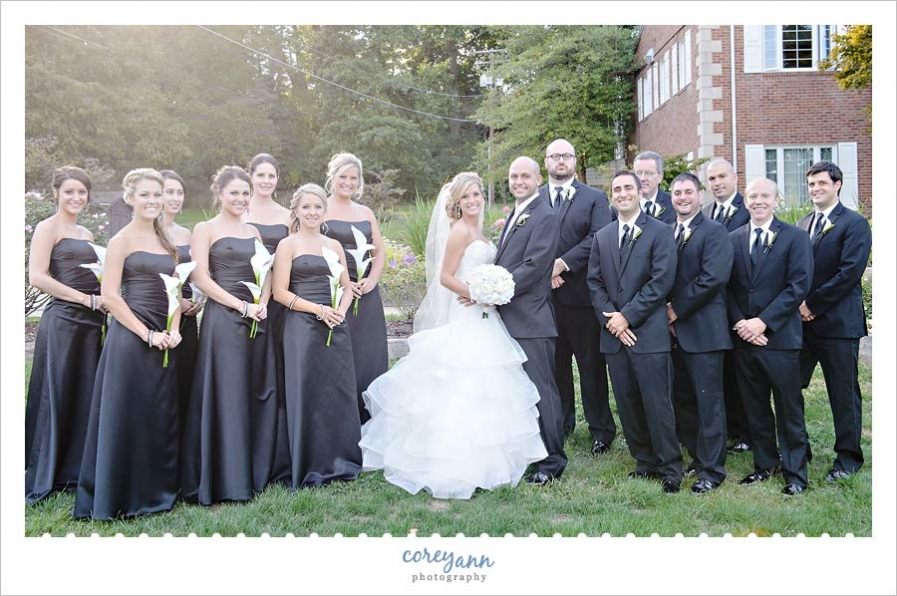 95 Black And Grey Wedding Party Black And White Florida