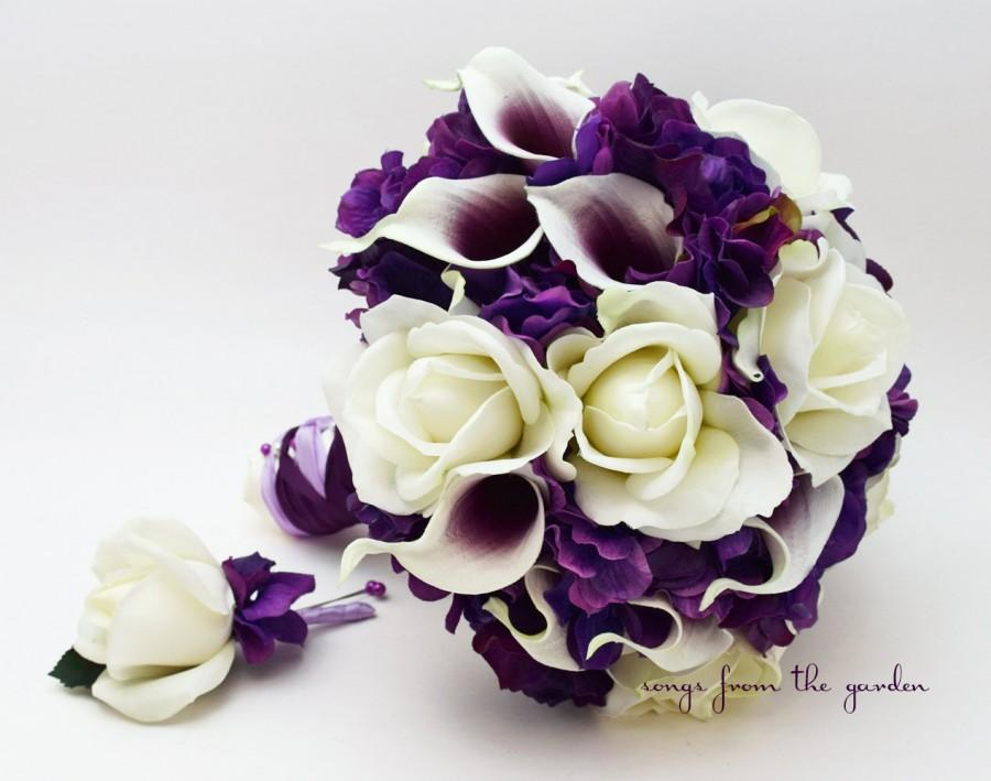 Best Purple And White Wedding Bouquets Pictures - Styles & Ideas ...
