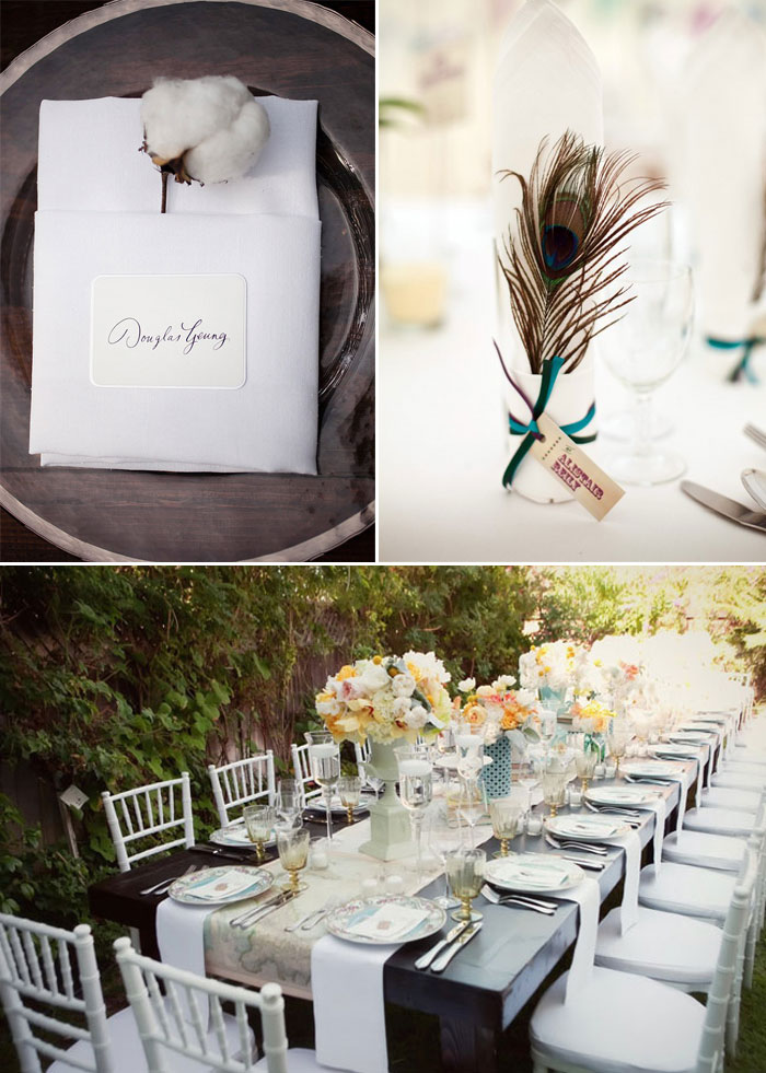 How To Fold Dinner Napkins For A Wedding
