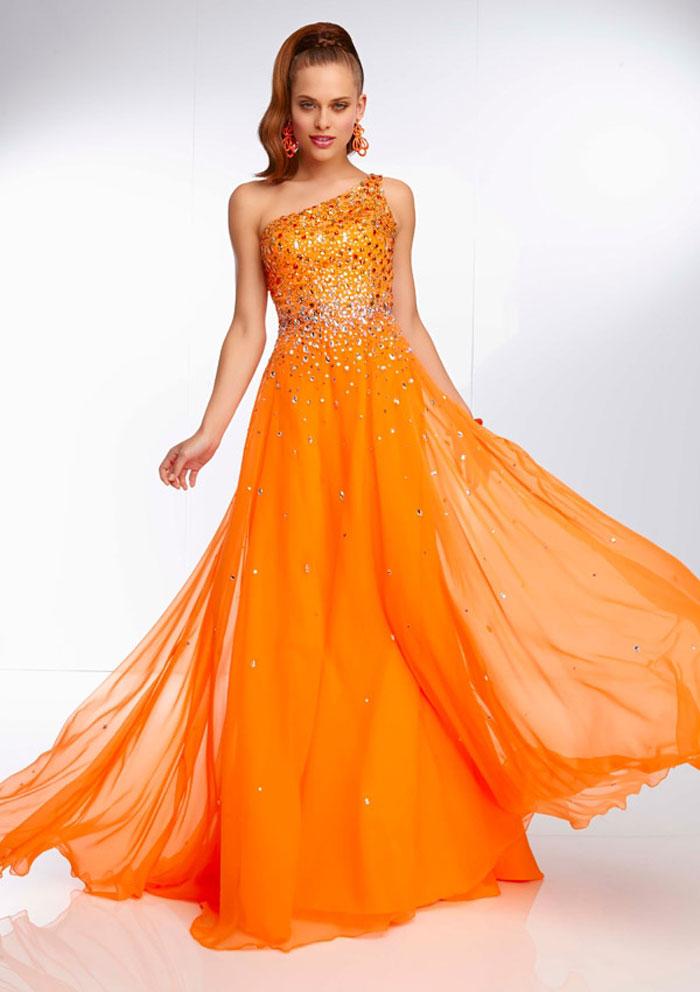 Burnt Orange Wedding Dresses Ocodea Dress With