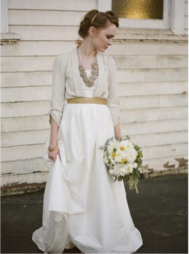 Casual wedding dress for fall for Fall casual wedding dresses