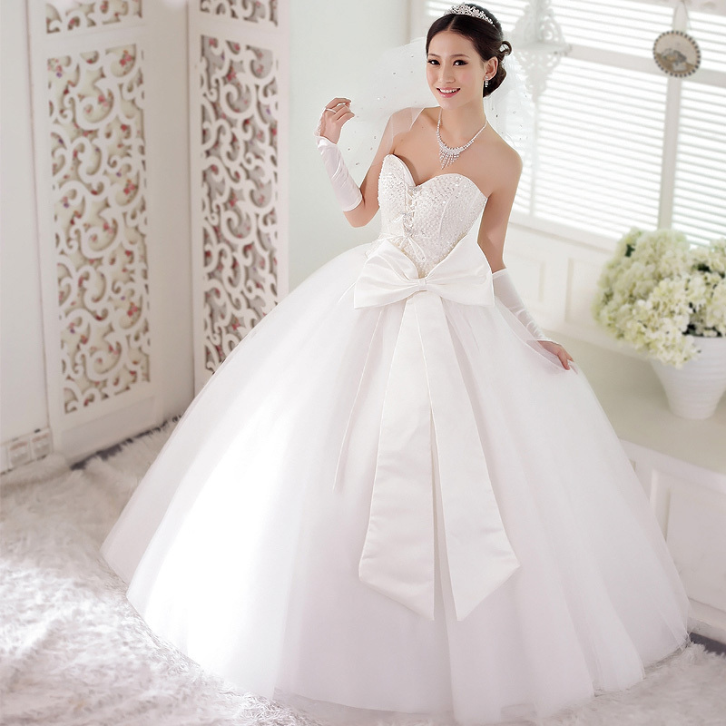 Wedding Gown Bow
