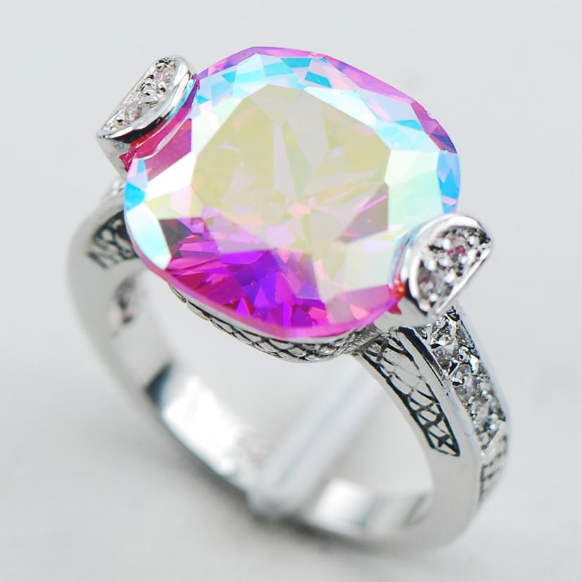 rainbow wedding rings - Rainbow Wedding Rings