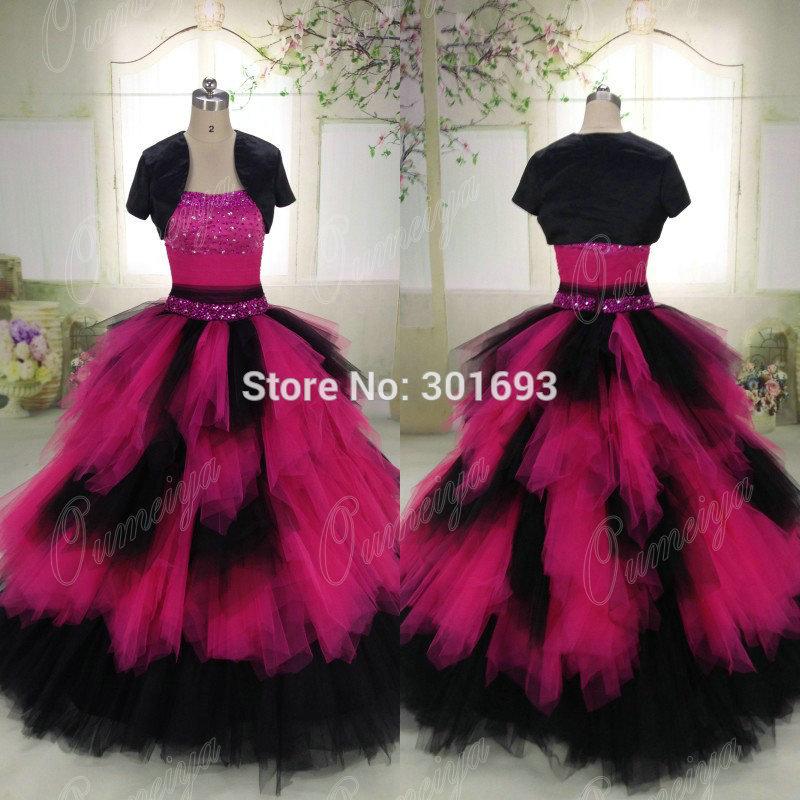 Black And Fuschia Wedding Dresses | Weddings Dresses