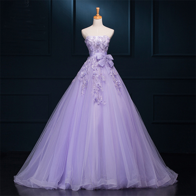 Compare Prices On Purple Wedding Dresses