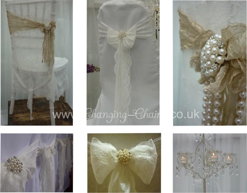 Wedding Chair Cover Designs