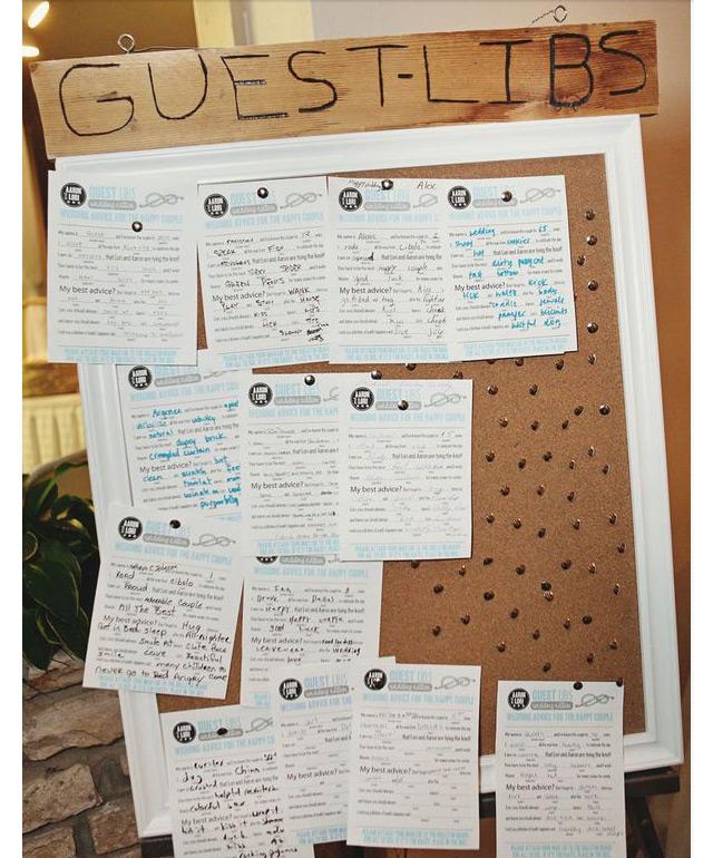 Wedding Guest Signing Ideas: Wedding Sign In Ideas