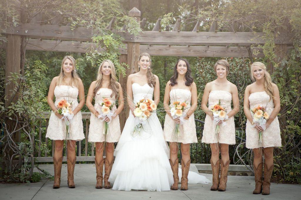 Cowgirl Wedding Attire