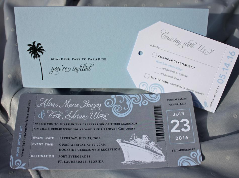Cruise Ship Wedding Invitations &AO71 – Advancedmassagebysara