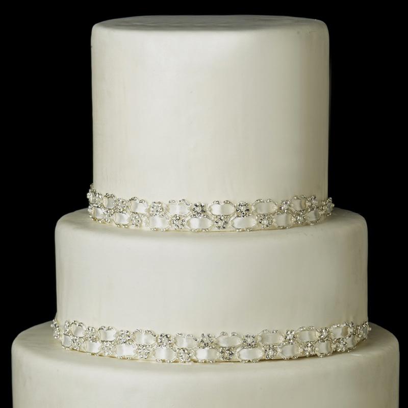 Crystal Cake Ribbon Trim