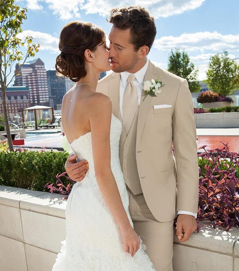 Tan Suits For Wedding: Mens Beige Suits Weddings