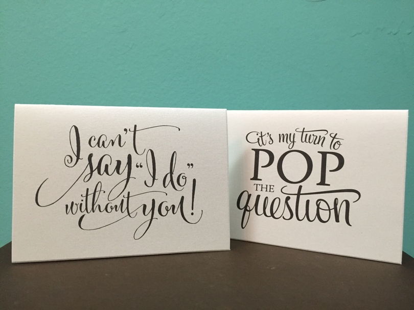 Cute Ways To Ask Your Bridesmaids Be In Wedding