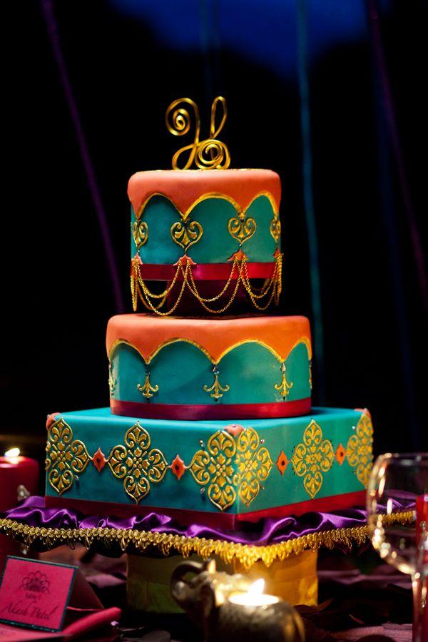 Aladdin Themed Wedding