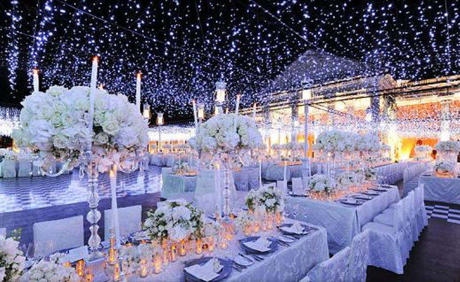 Diy Outdoor Wedding Decorations