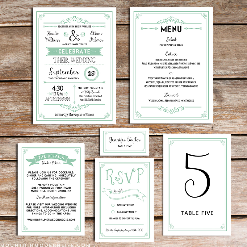 do it yourself wedding invitations