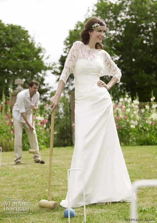 Dolman sleeve wedding dress for Dolman sleeve wedding dress