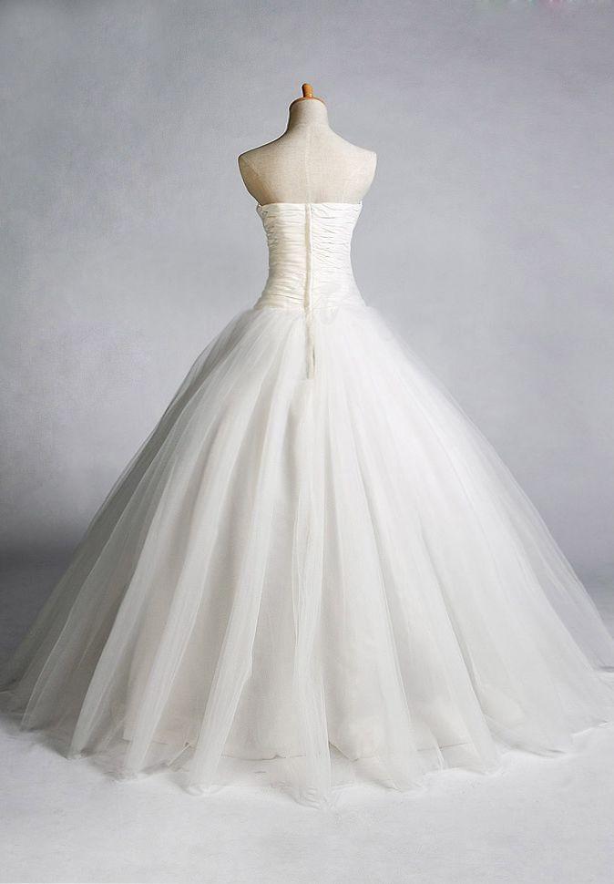 Simple Ball Gown Wedding Dress