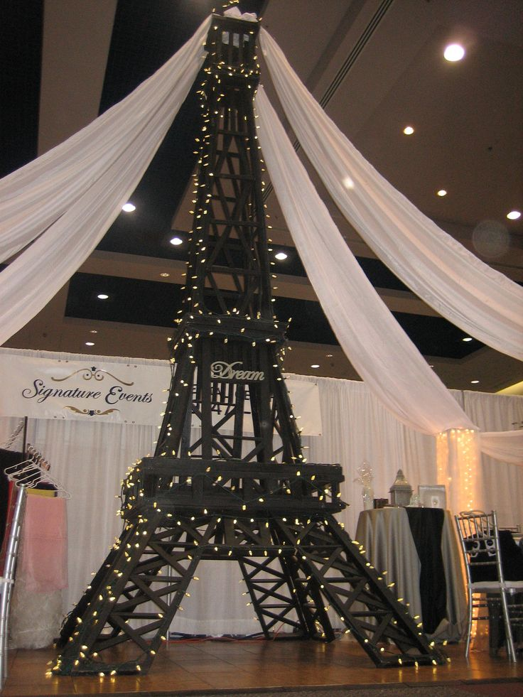 Eiffel tower wedding centerpieces junglespirit Image collections