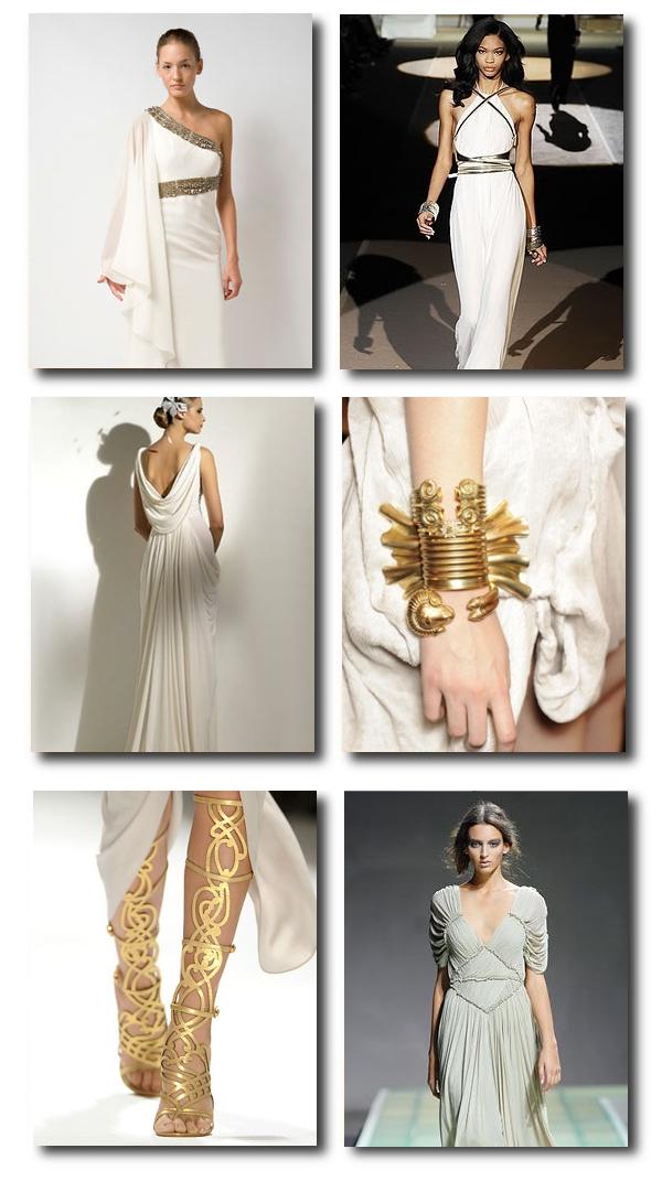 Greek Style Wedding Fashion Dresses