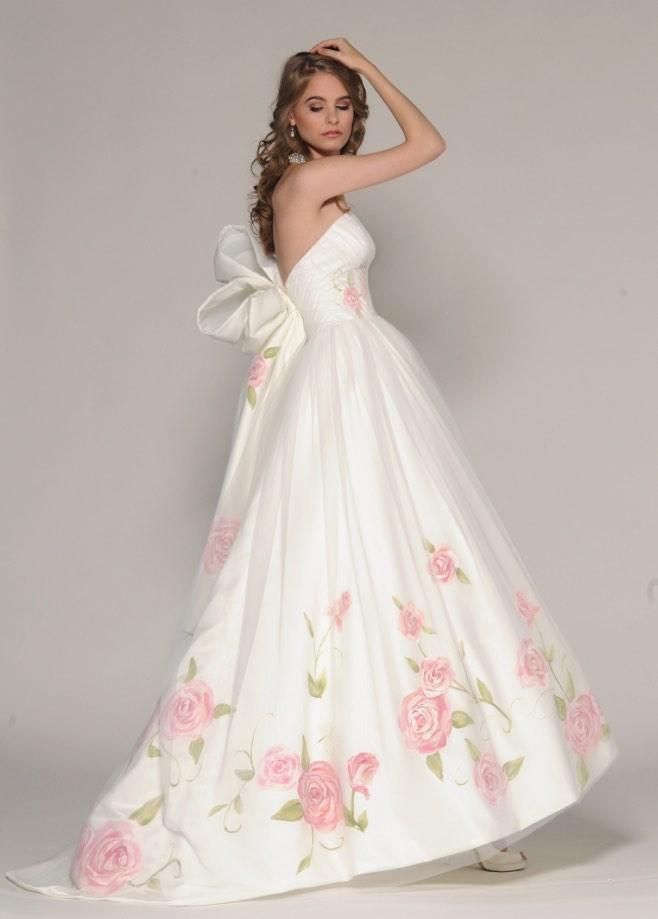Pink Wedding Dresses Meaning Weddings Dresses