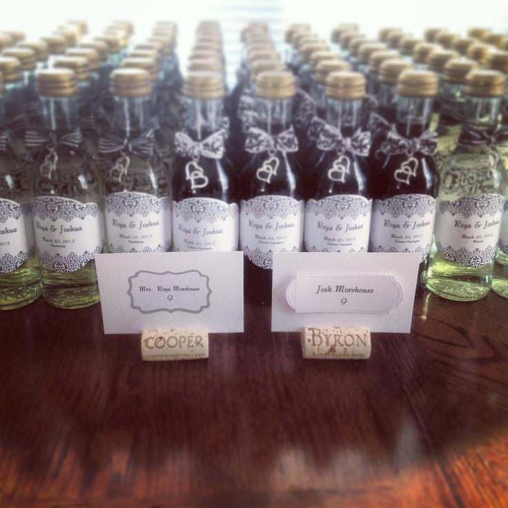 Small Wine Bottles For Wedding Favors Wedding Decor Ideas